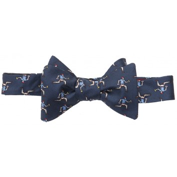 Beer Run Bow - Navy